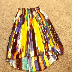 A high low skirt